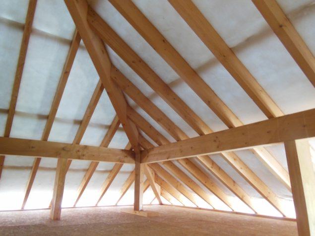Isolation de la toiture d 39 une nouvelle construction aluthermo - Desamianter une toiture ...