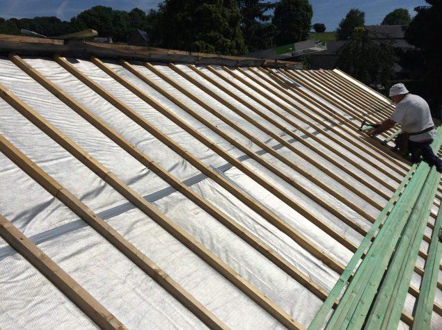Isolation aluthermo roofreflex en toiture par l exterieur Isoler toiture par exterieur