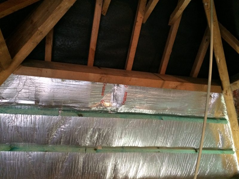 Roof Insulation From The Inside Without Breather Membrane Is Possible With  Aluthermo Optima