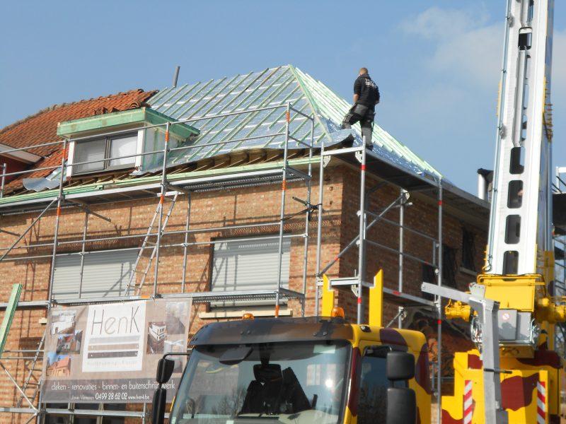 Aluthermo Quattro comme sous toiture, isolation et pare vapeur (1)
