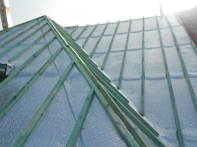 Aluthermo quattro comme sous toiture isolation et pare - Pare vapeur toiture ...