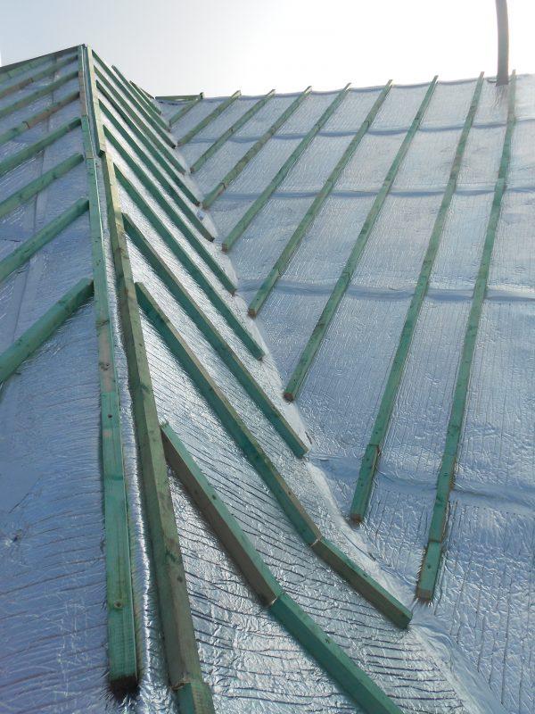 Aluthermo Quattro comme sous toiture, isolation et pare vapeur (14)