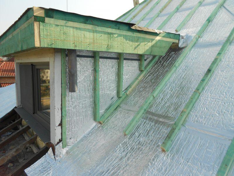 Aluthermo Quattro comme sous toiture, isolation et pare vapeur (15)