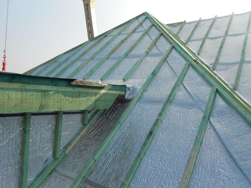 Aluthermo Quattro comme sous toiture, isolation et pare vapeur (16)
