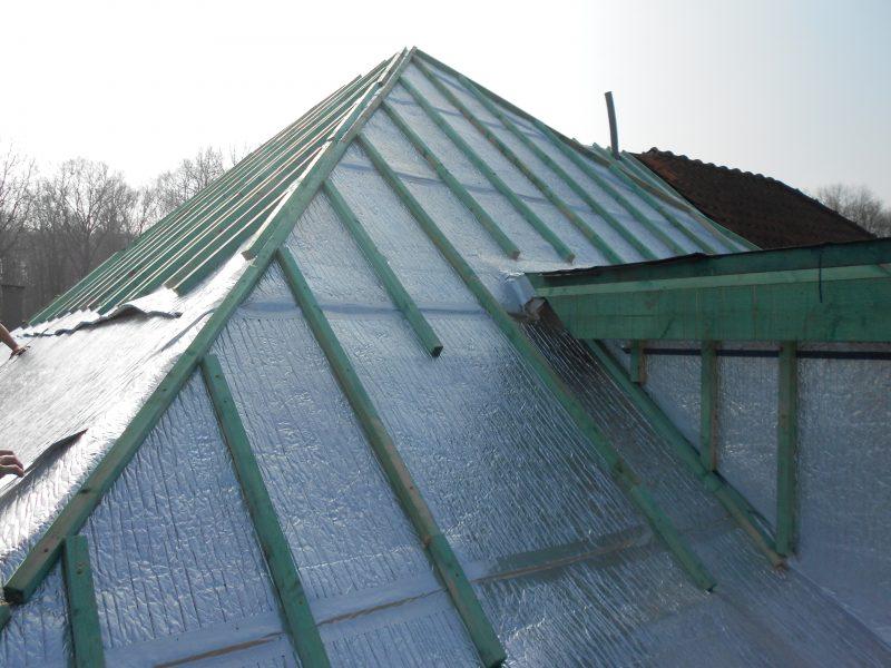 Aluthermo Quattro comme sous toiture, isolation et pare vapeur (17)