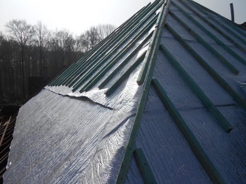 Aluthermo Quattro comme sous toiture, isolation et pare vapeur (18)
