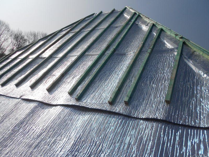Aluthermo Quattro comme sous toiture, isolation et pare vapeur (20)