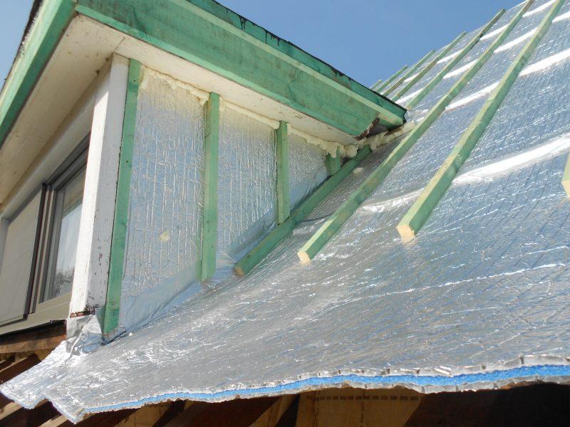 Aluthermo Quattro comme sous toiture, isolation et pare vapeur (23)