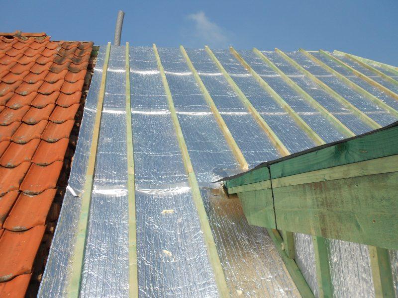 Aluthermo Quattro comme sous toiture, isolation et pare vapeur (26)