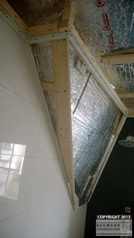 Isolation d\'une salle de bain - Aluthermo