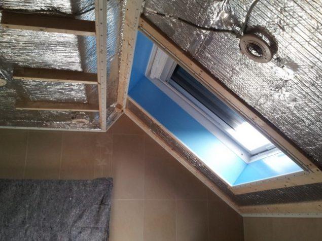 isolation d une salle de bain aluthermo. Black Bedroom Furniture Sets. Home Design Ideas