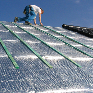 Thin Insulation Of The Roof From The Exterior Aluthermo