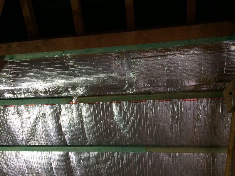 ALUTHERMO OPTIMA - Rénovation de la toiture par l'intérieur (4)