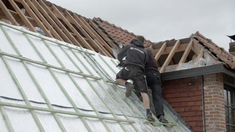 Isolation en aluminium mince pour la toiture extérieure