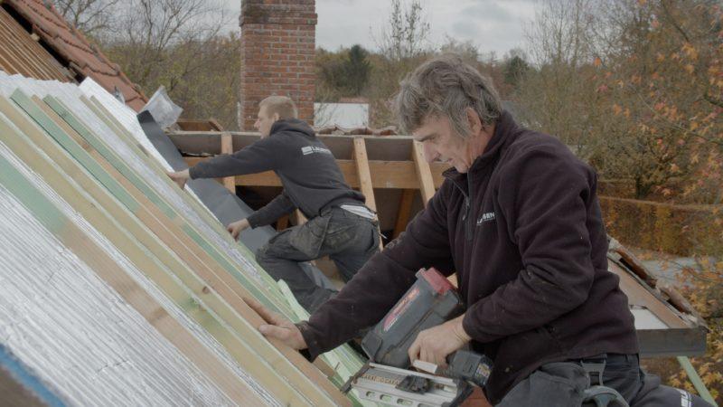 isolation mince extérieure pour la toiture : mise en œuvre