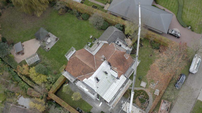 isolation mince pour la toiture d'une maison ancienne