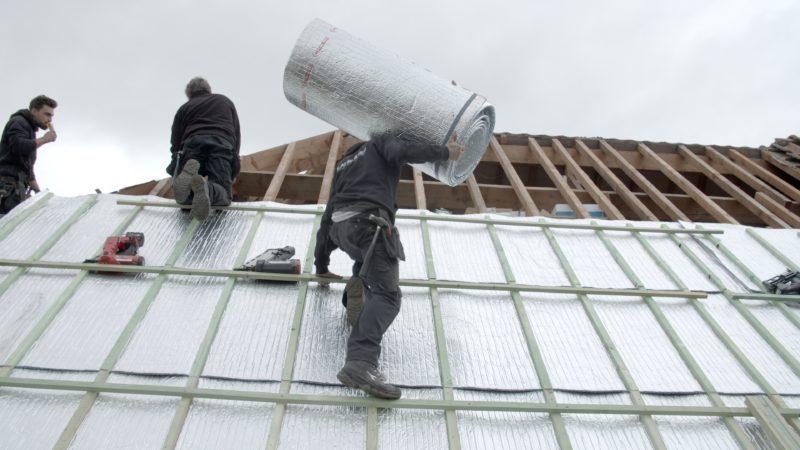 Isolant multicouche pour la toiture