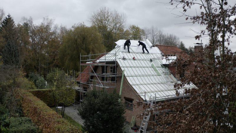 Isolation extérieur de la toiture