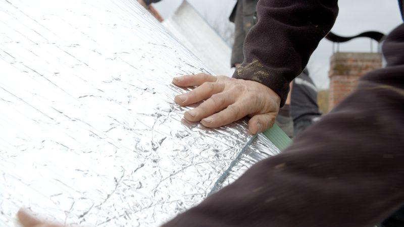 isolation mince alu pour la toiture