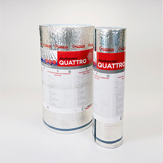 Aluthermo Quattro, isolant mince