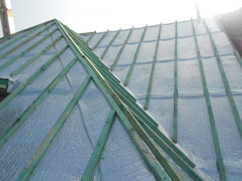 Aluthermo Quattro comme sous toiture, isolation et pare vapeur (12)