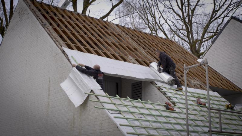 isolation alu d'une toiture en rénovation