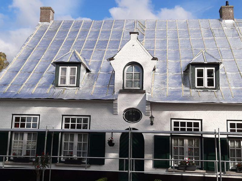 Rénovation d'une toiture - isolation mince