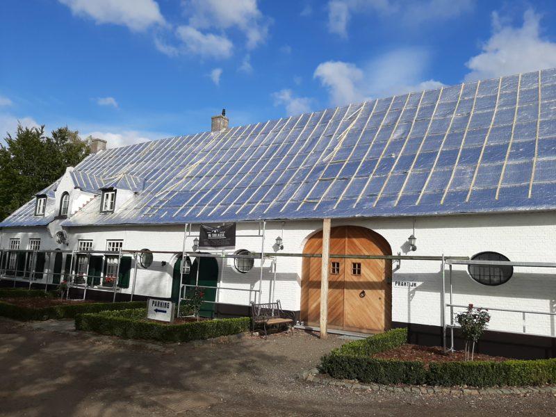 Isolation d'une toiture en rénovation