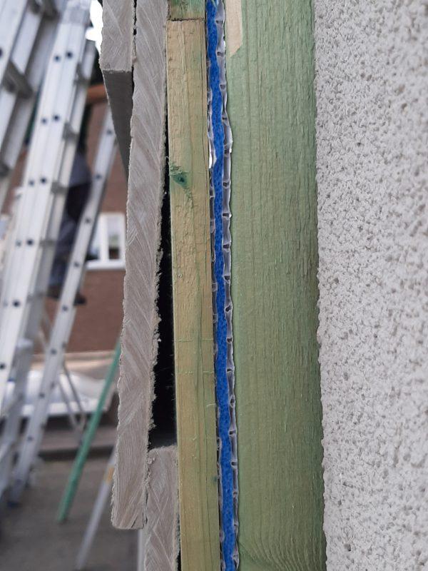 Travaux d'isolation : isolation mince d'un mur intérieur