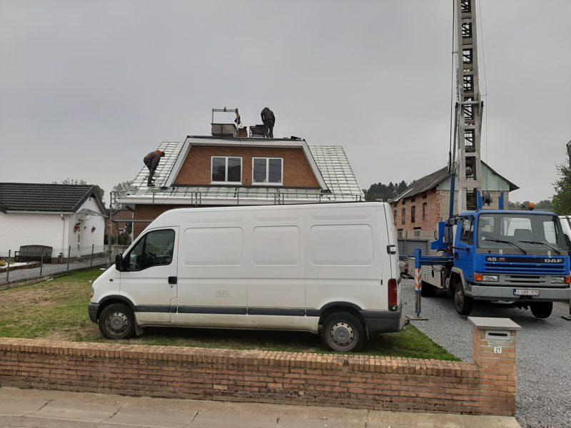 Isolation mince en rouleau pour le toit