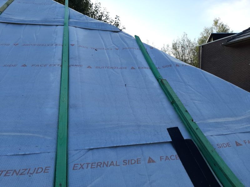 Aluthermo, isolant mince toiture extérieur