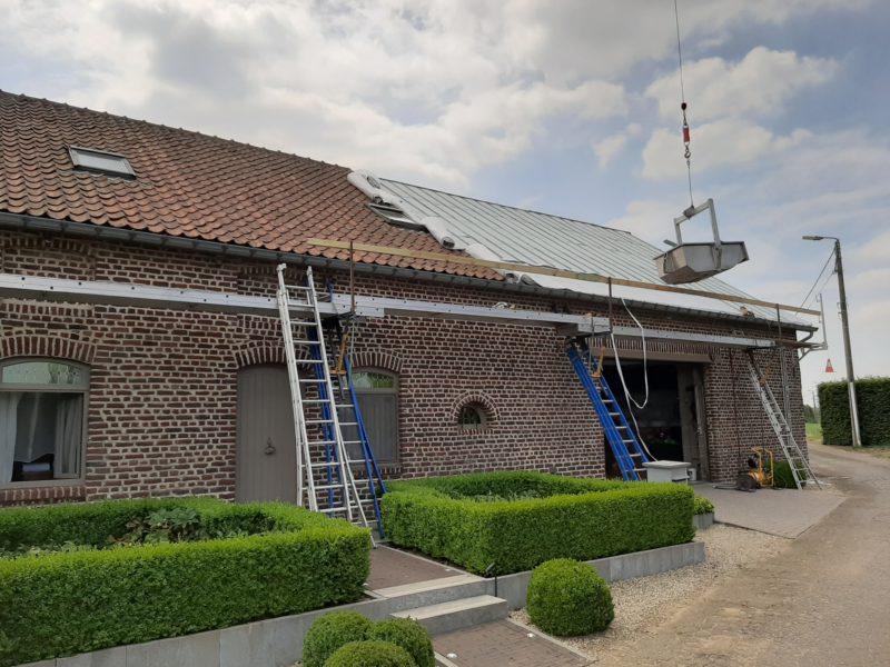 Aluthermo dakisoleren / isolation toiture isolation mince
