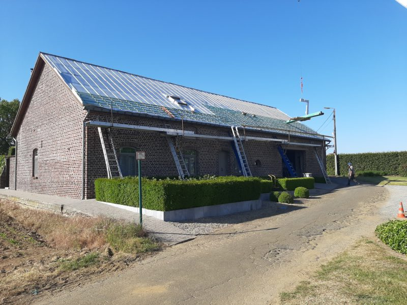 isolation d'un toit avec un isolant multicouche