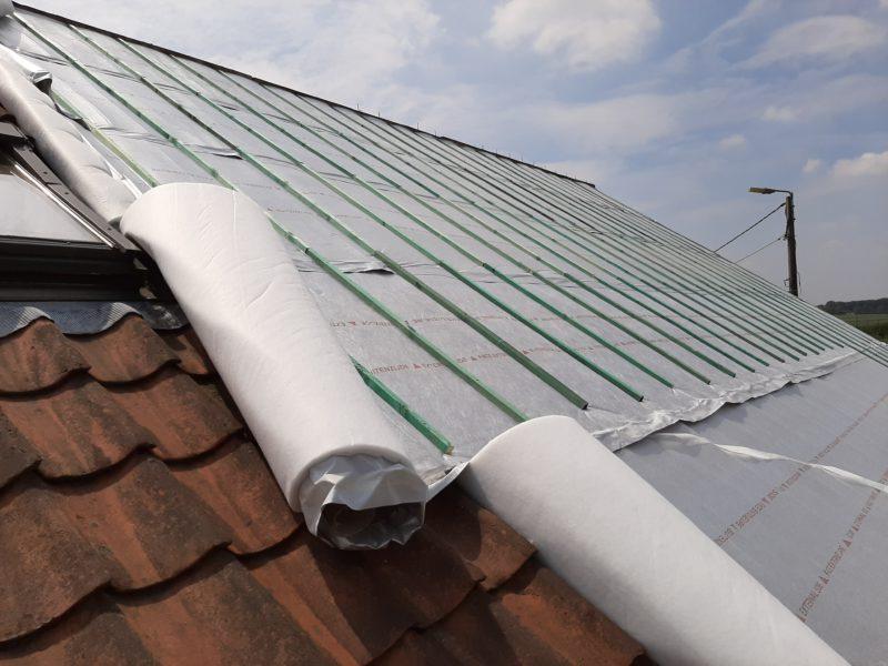 multicouche isolant pour toiture avec Alythermo / dak isolatie