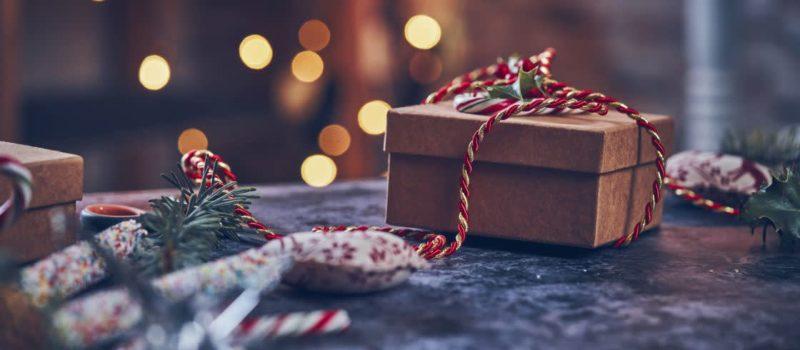 Geschenk-Weihnachten