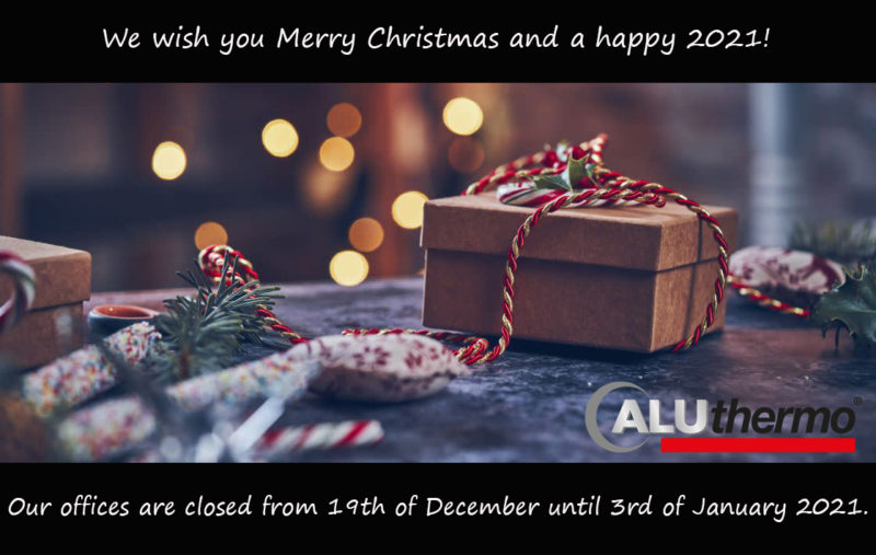 Merry Christmas - Aluthermo