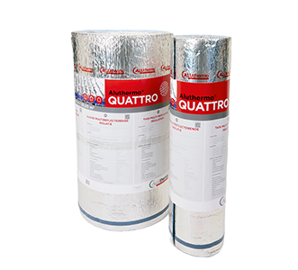 aluthermo quattro rouleaux : isolation mince